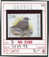Buzin - Belgien - Belgique - Belgie - Belgium - COB 3139 - Bontbekplevier - ** Mnh Neuf Postfris (Michel 3189) - 1985-.. Pájaros (Buzin)
