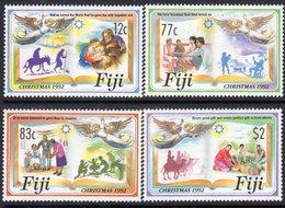 Fiji 1992 Christmas Set Of 4, MNH, SG 860/3 (BP2) - Fiji (1970-...)