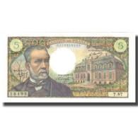 France, 5 Francs, Pasteur, 1969, 1969-02-06, NEUF, Fayette:61.9, KM:146b - 1962-1997 ''Francs''