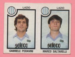 Figurina Panini 1982-83 - Lazio, Gabriele Podavini E Marco Saltarelli - Trading Cards