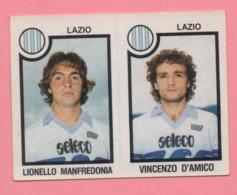 Figurina Panini 1982-83 - Lazio, Lionello Manfredonia E Vincenzo D'Amico - Trading Cards