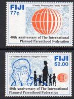 Fiji 1993 Planned Parenthood Federation Set Of 2, MNH, SG 864/5 (BP2) - Fiji (1970-...)