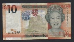 Banconota States Of Jersey, 10 Pounds 2010 (circolata) - Royaume-Uni