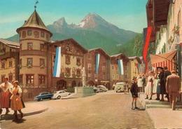 BERCHTESGADEN-MARKTPLATZ- VIAGGIATA   -F.G - Berchtesgaden