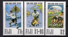 Fiji 1993 Hong Kong Rugby Sevens Set Of 3, MNH, SG 870/2 (BP2) - Fiji (1970-...)