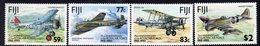 Fiji 1993 75th Anniversary Of The RAF Set Of 4, MNH, SG 873/6 (BP2) - Fiji (1970-...)