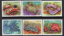 Fiji 1993 Nudibranches Set Of 6, MNH, SG 878/83 (BP2) - Fiji (1970-...)