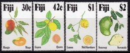 Fiji 1993 Tropical Fruit Set Of 4, MNH, SG 884/7 (BP2) - Fiji (1970-...)