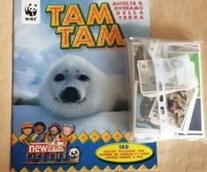 Tam Tam WWF. Album Vuoto+470 Figurine New Links Con Doppie - Stickers