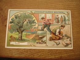 Teck Chromo Serie Les Arbres Chocolat Guerin Boutron E - Guerin Boutron
