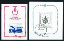 Polonia Nº HB-19 Y HB-31 USADO - Blocs & Hojas