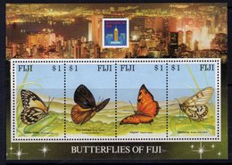 Fiji 1994 Hong Kong Exhibition Butterflies MS, MNH, SG 889 (BP2) - Fiji (1970-...)