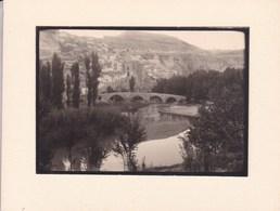 ALCALA De JUCAR Gorges Du JUCAR 1954 ALBACETE  Photo Amateur Format Environ 7,5 Cm X 5,5 Cm - Lugares