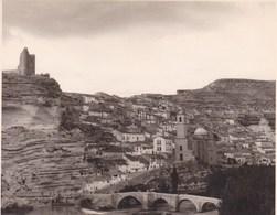 ALCALA De JUCAR Gorges Du JUCAR 1949 ALBACETE  Photo Amateur Format Environ 7,5 Cm X 5,5 Cm - Lugares