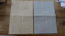 2 Lettres De 1870 Et 1871, Militaire A PONT SAINT ESPRIT, 19e De Ligne, 7e Cie, 4e Bat  …... … 3234 - Militares