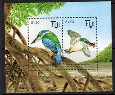 Fiji 1994 Kingfisher Bird MS, MNH, SG 898 (BP2) - Fiji (1970-...)