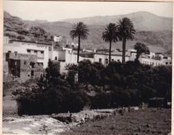 AGAETE GRAN CANARIA 1956  Photo Amateur Format Environ 7,5 Cm X 5,5 Cm - Plaatsen