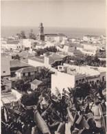 TENERIFE PUERTO DE LA CRUZ 1956 Photo Amateur Format Environ 7,5 Cm X 5,5 Cm - Lugares