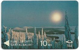 Finland (Sonera) - Winterview From Koli, 3FINA, 09.1992, 10Mk, 50.000ex, Used - Finlande