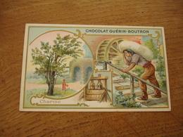 Charme Serie Les Arbres Chocolat Guerin Boutron E - Guerin Boutron