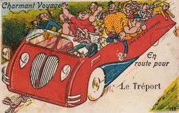 76 Le Treport. Carte Syteme. Charmant Voyage - Le Treport