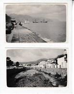 SANTA CRUZ De TENERIFE 1921 Photo Amateur Format Environ 7,5 Cm X 5,5 Cm 2 Petites Photos - Lugares