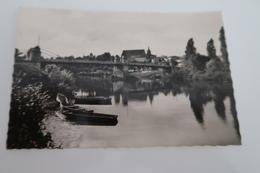 CPSM - GUITRES (33) - Le Pont Et Vue Générale - Other Municipalities