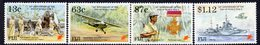 Fiji 1995 50th Anniversary Of End Of WWII Set Of 4, MNH, SG 907/10 (BP2) - Fiji (1970-...)