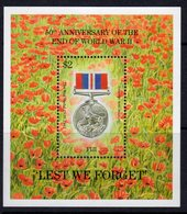 Fiji 1995 50th Anniversary Of End Of WWII MS, MNH, SG 911 (BP2) - Fiji (1970-...)