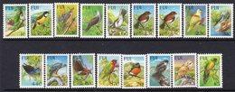Fiji 1995 Birds Definitives Complete Set Of 17, MNH, SG 912/27 + 1194a (BP2) - Fiji (1970-...)