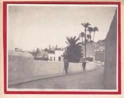 LAS PALMAS 1921 Cathédrale Et Quartier De La VEQUETA Calle De GRANADOS Photo Amateur Format Environ 7,5 Cm X 5,5 Cm - Lugares