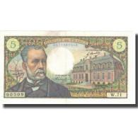 France, 5 Francs, Pasteur, 1967, 1967-12-07, TTB+, Fayette:61.6, KM:146b - 1962-1997 ''Francs''