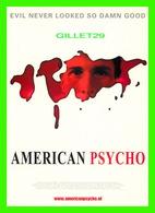 AFFICHES DE CINÉMA - FILM, AMERICAN PSYCHO PAR MARY HATTON IN 2000 -  COLLEGECARDS - - Affiches Sur Carte