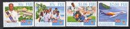 Fiji 1995 25th Anniversary Of Independence Set Of 4, MNH, SG 930/3 (BP2) - Fiji (1970-...)