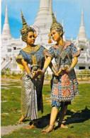 ** Lot De 4 Postcards Cartes ** ASIA Asie - THAÏLANDE Thailand – Cartes Différentes 1970's - CPSM Format CPA  Tailandia - Tailandia