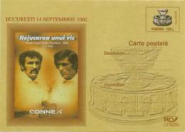 5279  Coupe Davis: Entier Postal (c.p.), Roumanie 2002 - Tennis Davis Cup Stationery. Nastase Tiriac - Tennis