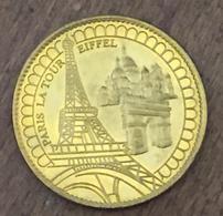 FRANCE 75 PARIS LA TOUR EIFFEL MÉDAILLE ARTHUS BERTRAND 2008 JETON MEDALS TOKENS COINS - 2008