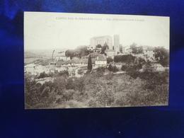 1913 CASTELNAU BARBARENS VUE D'ENSEMBLE COTE LEVANT BON ETAT - Autres Communes