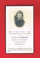 Image Pieuse ...Généalogie ... Souvenez-vous De Juliette FOUQUET Rappelée à BRETTEVILLE En 1953 - Imágenes Religiosas