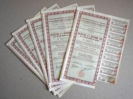 Obligation , Loan , 4% , Morocco, France , 1946 Year , Compagnie Marocaine, 50 F , - Azioni & Titoli