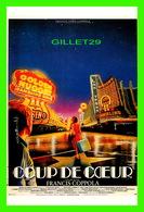 """AFFICHES DE CINÉMA - """" COUP DE COEUR """" DE FRANCIS FORD COPPOLA -EN 1982 - S.E.D.I.I. - - Affiches Sur Carte"""