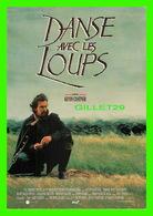 """AFFICHES DE CINÉMA - """" DANSE AVEC LES LOUPS """" DE KEVIN COSTNER EN 1990 - AMLF - - Affiches Sur Carte"""
