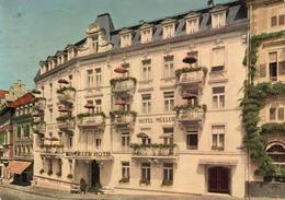 HOTEL MULLER- VIAGGIATA 1955  -F.G - Baden-Baden