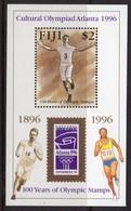 Fiji 1996 Centenary Of Modern Olympics MS, MNH, SG 955 (BP2) - Fiji (1970-...)
