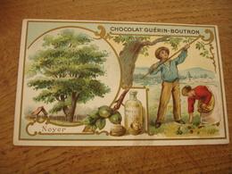 Noyer  Serie Les Arbres Chocolat Guerin Boutron E - Guerin Boutron
