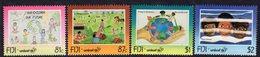 Fiji 1996 UNICEF Set Of 4, MNH, SG 961/4 (BP2) - Fiji (1970-...)