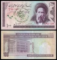 MARKAZI Bank 100 RIALS Propaganda Type 10 Sign.28 P 140f VF - Iran