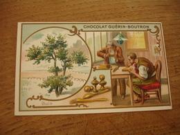 Buis Serie Les Arbres Chocolat Guerin Boutron E - Guerin Boutron