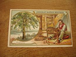 Platane Serie Les Arbres Chocolat Guerin Boutron E - Guerin Boutron