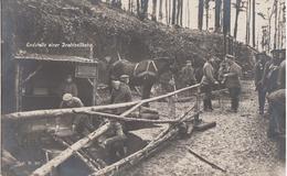 GUERRE 14-18 - CARTE PHOTO ALLEMANDE - VOSGES - VOGESEN - STATION TERMINALE TÉLÉPHÉRIQUE - TOP - Oorlog 1914-18